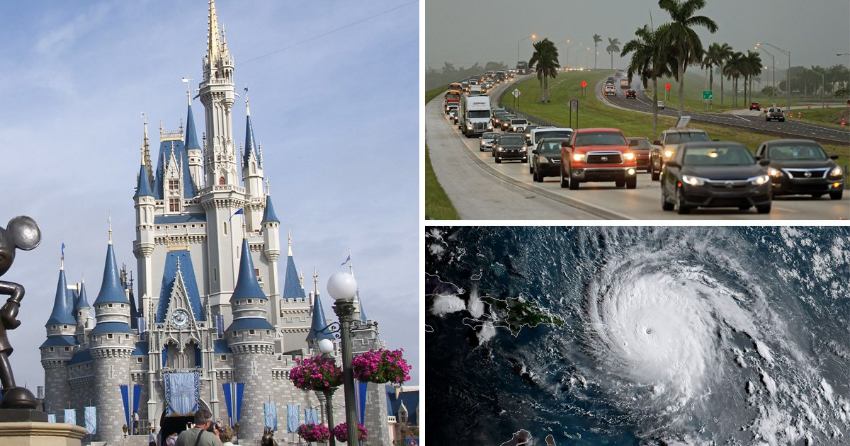 Disney World reveals how it will cope with Hurricane Irma