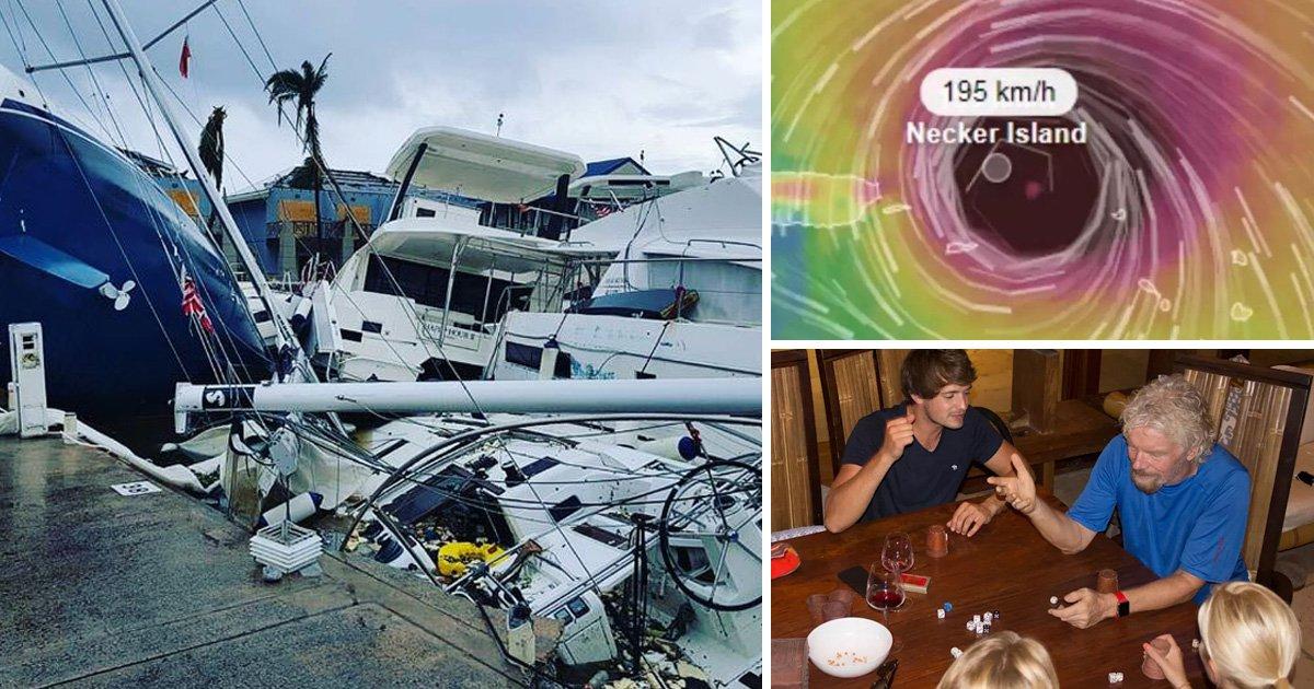 Richard Branson 'devastated' about Hurricane Irma destruction