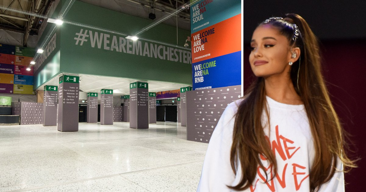 Manchester Arena shares first pictures of renovated foyer after terror attack at Ariana Grande concert