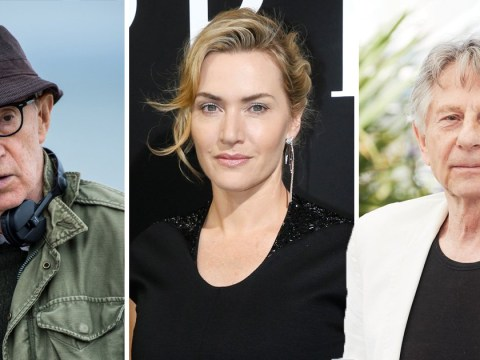 Kate Winslet angers fans by defending working with Woody Allen and Roman Polanski