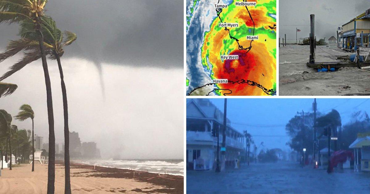 Hurricane Irma hits US as deadly storm's eye reaches Florida Keys