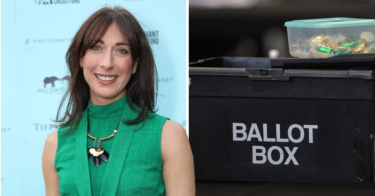 Samantha Cameron reveals she voted for Green Party