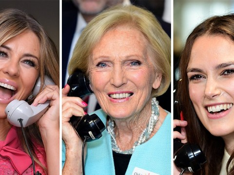 Celebrities including Mary Berry, Keira Knightley and Liz Hurley turn out for 9/11 charity event