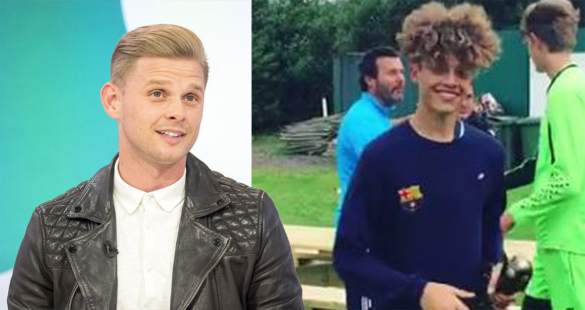 Jeff Brazier posts adorable video of Jade Goody's son Bobby, 14, winning football trophy