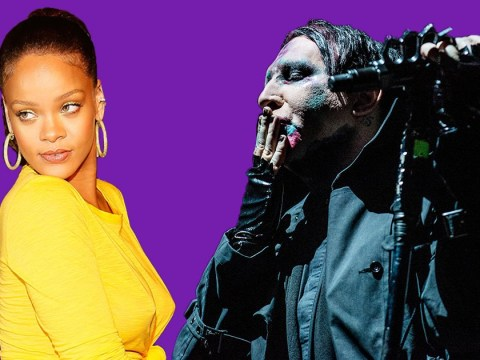 Marilyn Manson reveals that Rihanna inspired his latest album