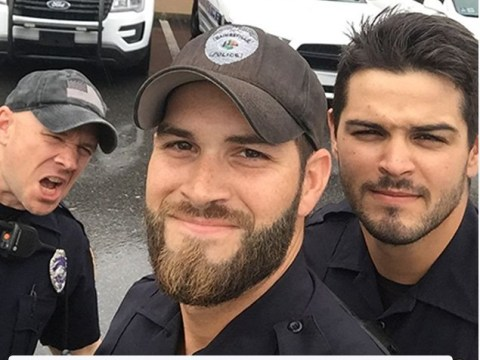 The thirsty comments on this pic of Florida police helping after Irma are incredible