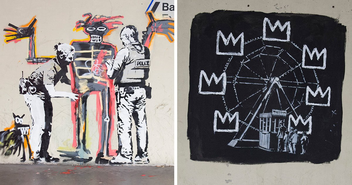 New Banksy murals open in 'graffiti-free' area of central London