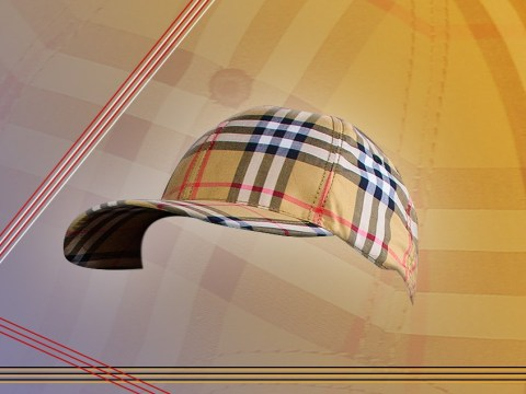 Burberry caps are officially back in fashion, people