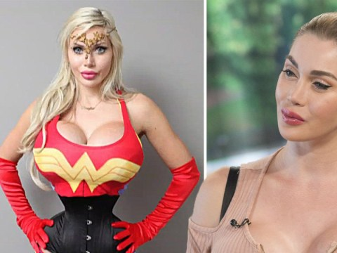 Woman removes six ribs to look like Wonder Woman and declares: 'I don't do this for vanity'
