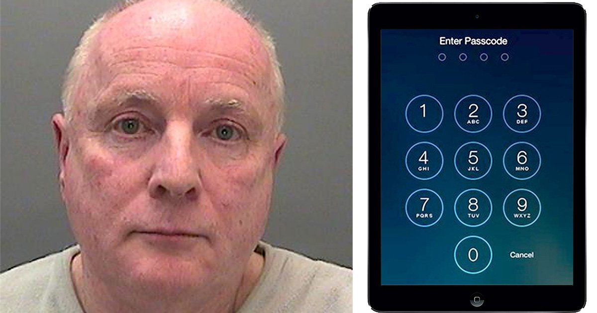 Child sex offender jailed for refusing to give police his iPad passcode