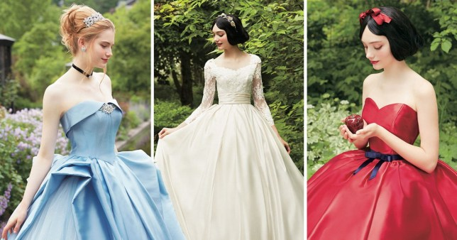 662933ba08c Disney princess inspired bridal gowns will make all your fairy tale wedding  dreams come true