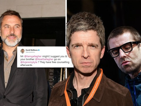 David Walliams suggests Liam and Noel Gallagher should duke it out on The Jeremy Kyle Show