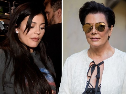 Defensive Kris Jenner declares Kylie 'is not confirming anything' over pregnancy as Ryan Seacrest probes her live on air