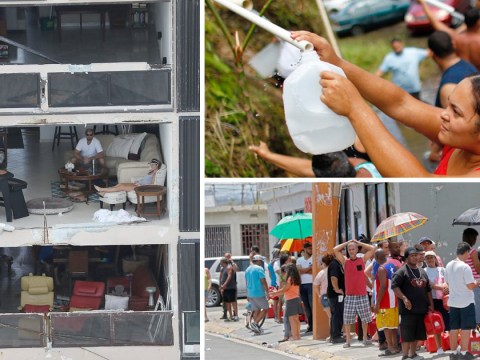 How people are living a week after Hurricane Maria hit Puerto Rico