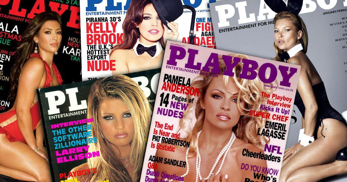From Kim Kardashian to Pamela Anderson, the biggest stars to pose naked for Playboy