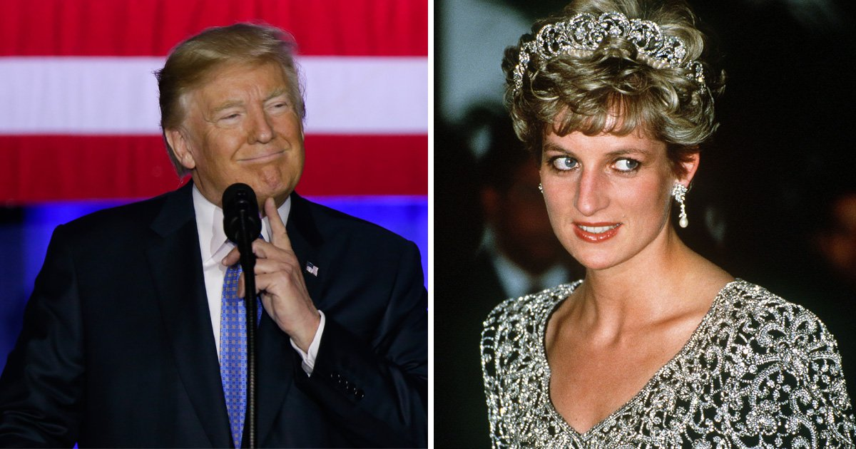 Trump said he'd send Princess Diana to a doctor before 'nailing' her