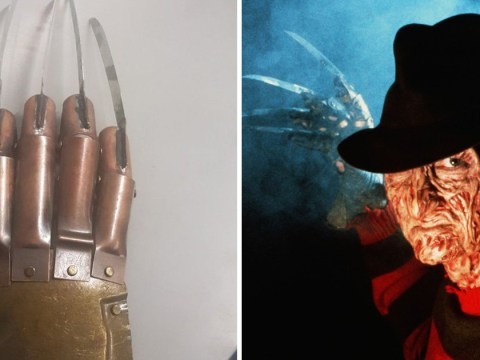 Someone handed in a Freddy Krueger glove during London knife amnesty