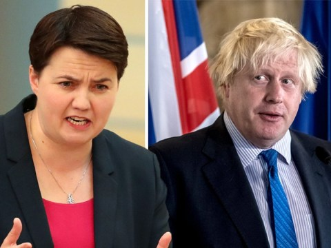 Ruth Davidson takes aim at Boris Johnson on eve of Tory conference