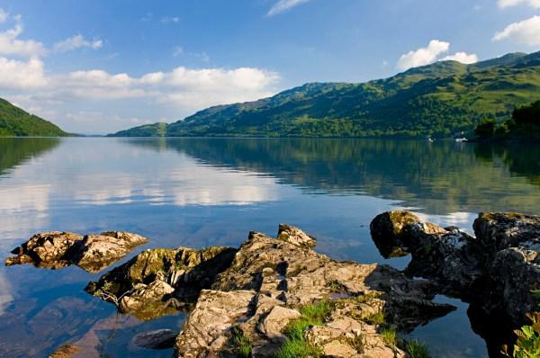 Loch Ness in Balloch, Scotland