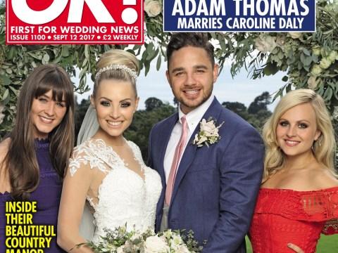 Emmerdale's Adam Thomas marries girlfriend Caroline Daly in stunning countryside ceremony