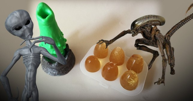 You can get sex toys that lay alien eggs inside you so obviously we