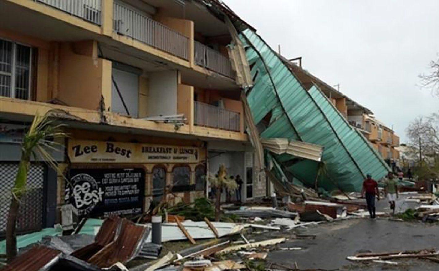 Hurricane Irma looting breaks out on Caribbean Island