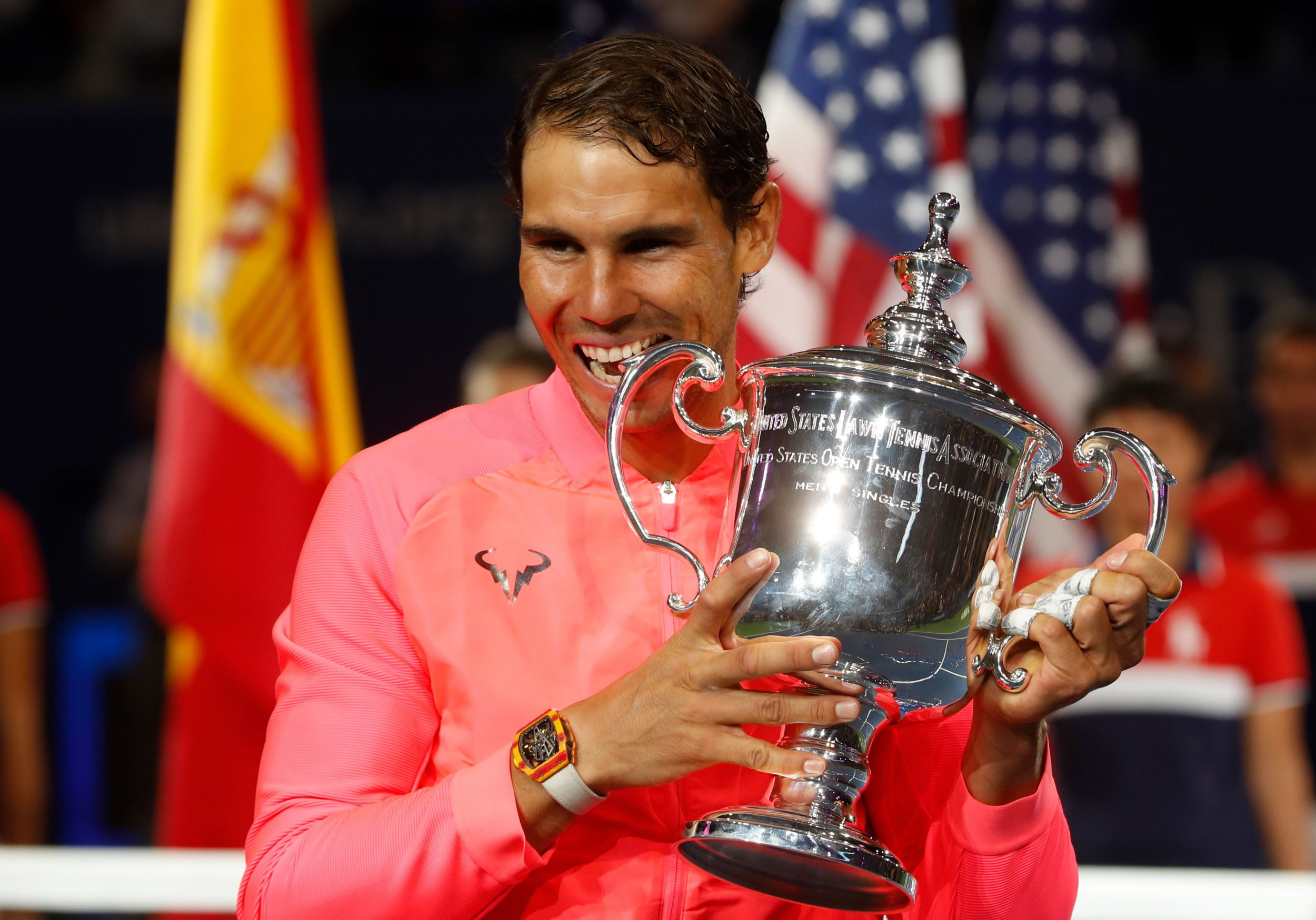 Rafael Nadal pays touching tribute to Uncle Toni after winning the US Open