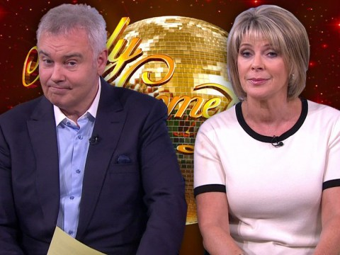 'Strictly widower' Eamonn Holmes reckons wife Ruth Langsford doesn't stand a chance in winning BBC show