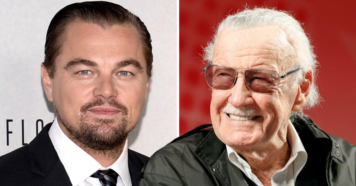 Leonardo DiCaprio is keen to play Marvel Comics' star Stan Lee