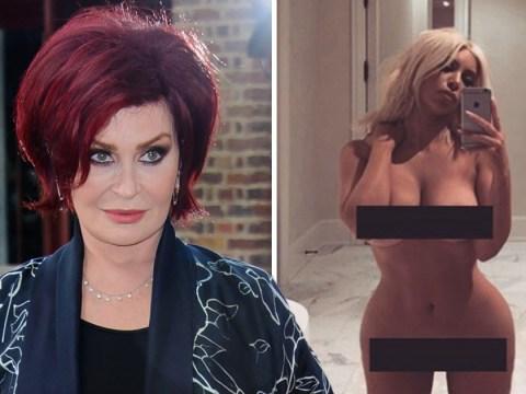 Sharon Osbourne backtracks on calling Kim Kardashian a 'ho': 'She's not ashamed of her body'