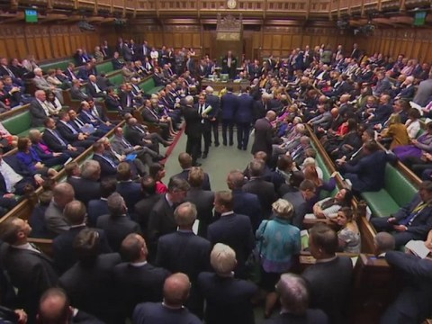 Labour divided as bid to stop Tory Brexit repeal bill fails