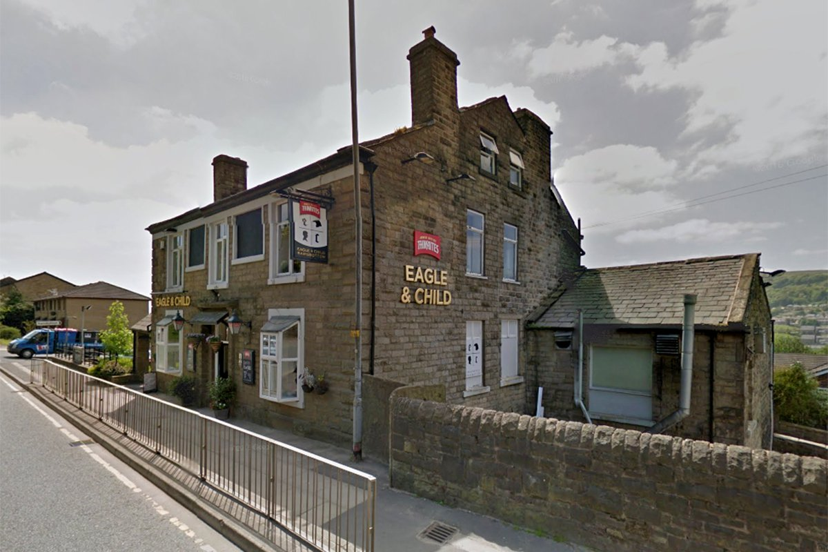The best pub in the UK is in Ramsbottom