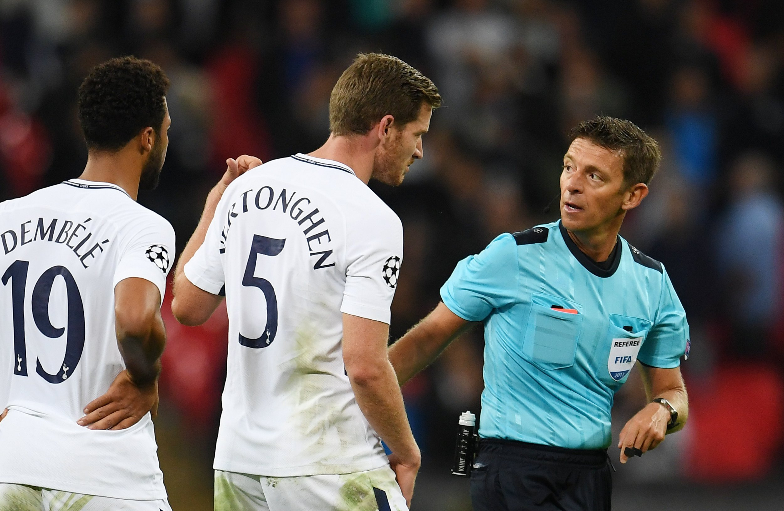 Ex-Spurs star Jermaine Jenas slams referee for Jan Vertonghen red card v Borussia Dortmund