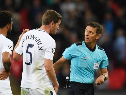 Ex-Spurs star Jermaine Jenas slams referee for Jan Vertonghen red card v Borussia Dortmund