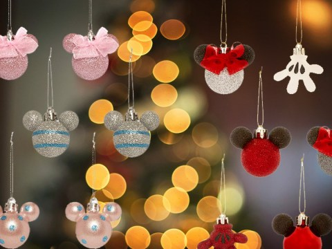Primark is selling Mickey and Minnie Mouse themed Christmas baubles