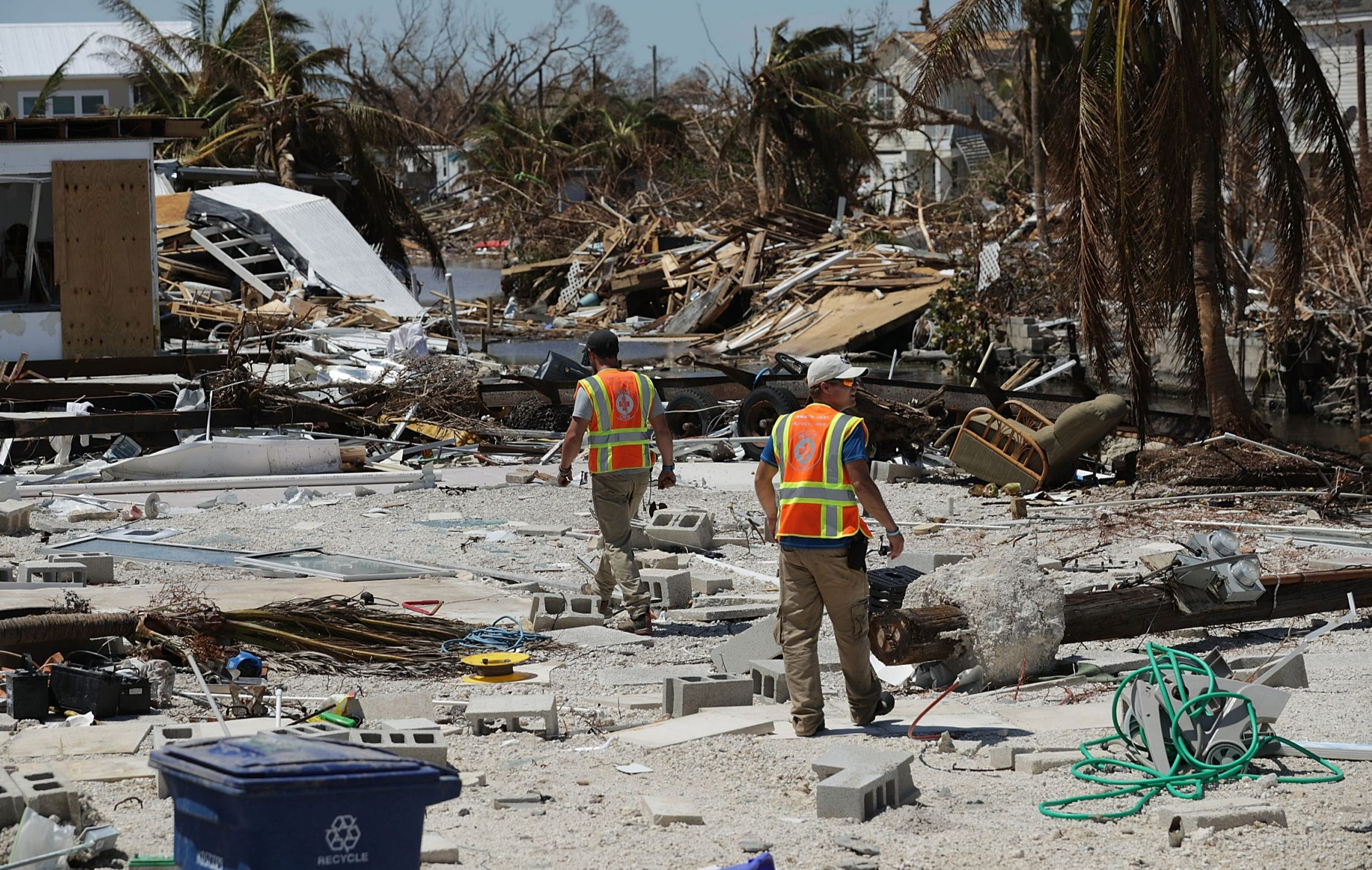 Florida Keys reopens for residents to assess damage after Hurricane Irma