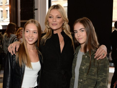 Kate Moss's mini-me daughter Lila Grace joins her mum at Topshop show during London Fashion Week
