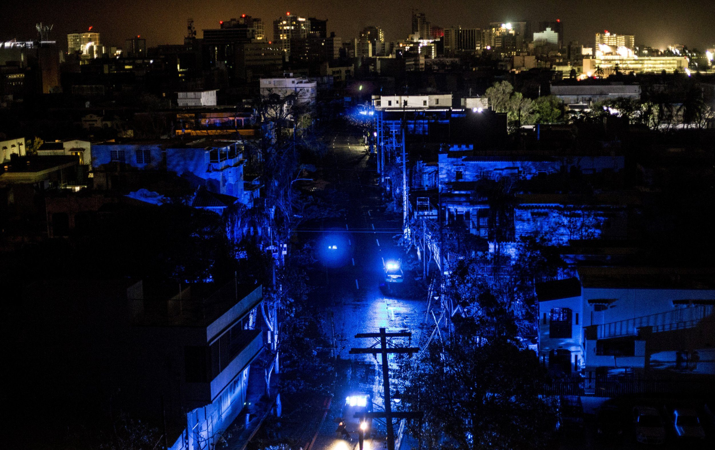 Hurricane Maria 'destroyed everything in its path' after hitting Puerto Rico in the dead of night
