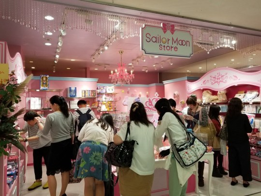 The first permanent Sailor Moon store has opened in Tokyo