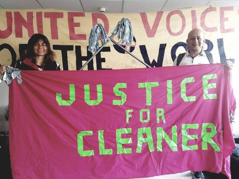 Cleaners at luxury car showroom 'suspended after asking for pay rise to £9.75 an hour'