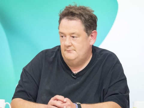 Johnny Vegas opens up about heartbreak over father's death: 'I haven't dealt with it'