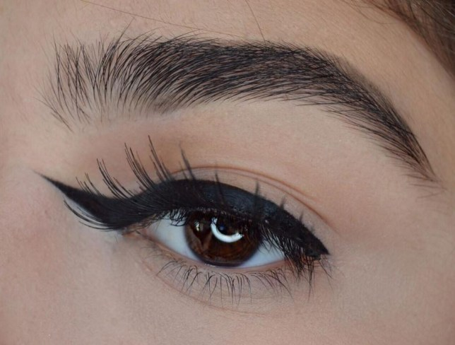 Reverse Winged Eyeliner Is Here To Confuse Your Makeup