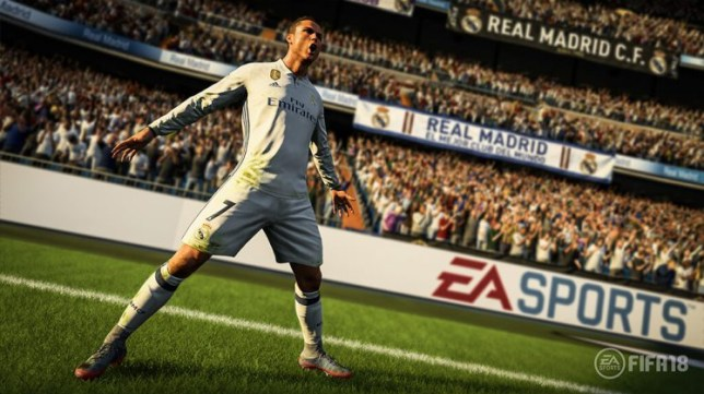 Ronaldo is the game's top rated player (Picture: EA Sports)
