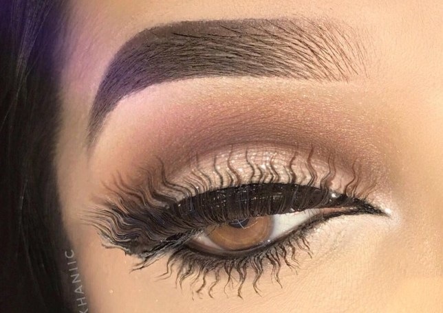 f91dcbe32cd The squiggle trend has jumped from our brows to our lashes | Metro News