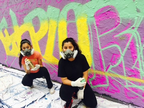 Graffiti Camp For Girls is empowering girls and women through street art