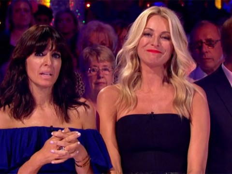 Tess Daly chokes back tears as Strictly pays tribute to Sir Bruce Forsyth