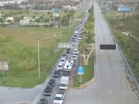 Hellish lines of traffic as Floridians return home after Hurricane Irma