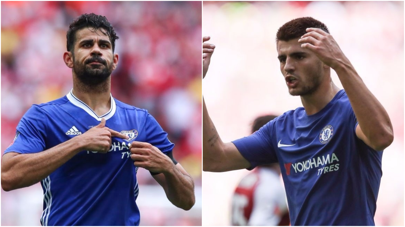 Diego Costa a better talisman for Chelsea than Alvaro Morata, says Ray Wilkins