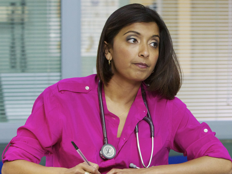 Casualty spoilers: Sunetra Sarker returns as Zoe Hanna next year but will she reunite with Max?