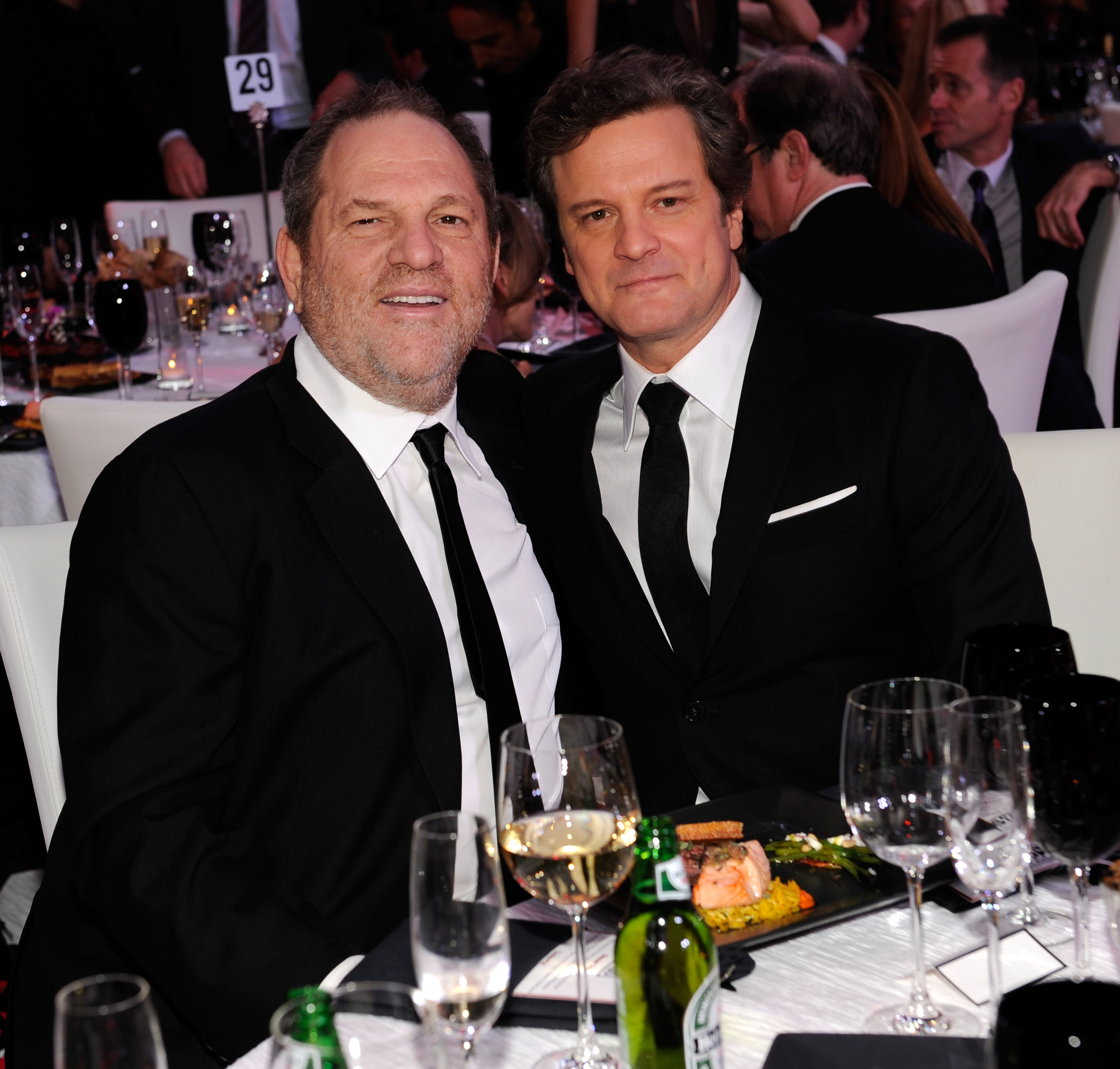 Colin Firth speaks out against Harvey Weinstein: 'He was a frightening man to stand up to'